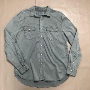 Lucky brand Button Down shirt Classic fit SZ L
